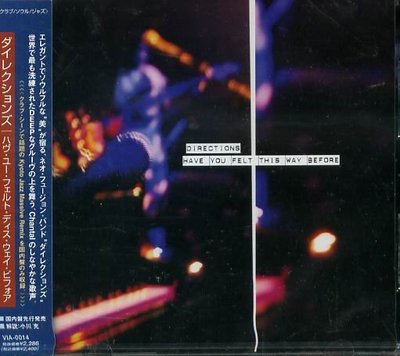 K - Directions - Have You Felt This Way - 日版 CD+1BONU NEW