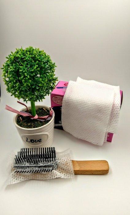 【三越Garden】梳子清潔紙 (50入)