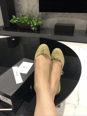 全新 Repetto 芥茉綠 芭蕾舞鞋