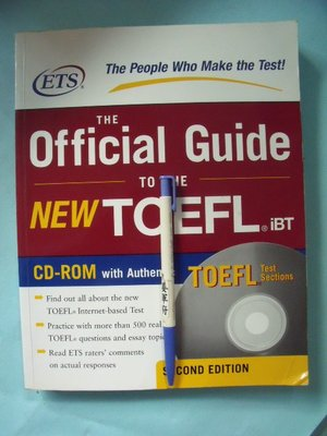 【姜軍府】《THE Official Guide TO THE NEW TOEFL iBT》無光碟!托福考試