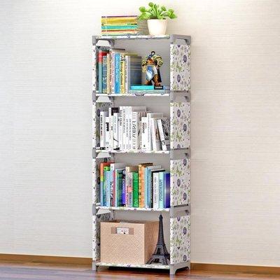 索爾諾簡易書架  書櫃置物架落地層架子兒童學生書櫥【 出貨】