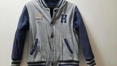 二手 義大利品牌 hitch-hiker 男童純棉厚外套130公分