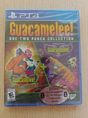 PS4 Guacamelee ! One-Two Punch Collection