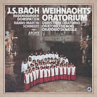 【音樂年華 】巴哈:聖誕神劇(180克 3 LPs) 羅森伯格大教堂合唱團 ※ 未拆