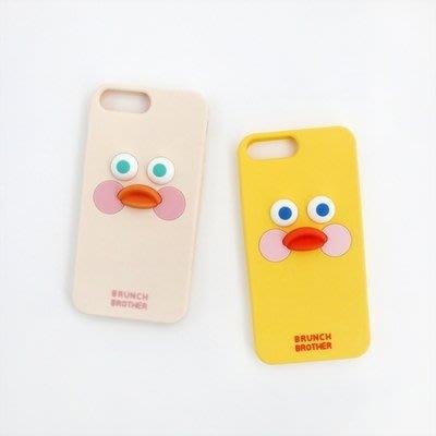 ♀高麗妹♀韓國 Romane Brunch 早午餐兄弟立體矽膠軟殼手機殼iPhone 6.6s.7.8 Plus