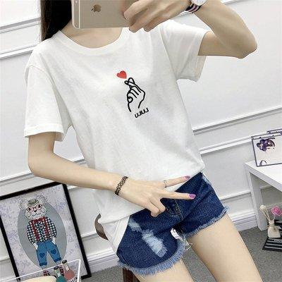 =DiuDiu=韓國首爾 時尚精品 東大門同步 早班車7188 休閒寬鬆短袖T恤 大碼T恤