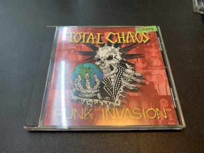 *還有唱片行* TOTAL CHAOS / PUNK INVASION 二手 Y17484