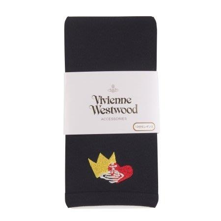【拓拔月坊】VIVIENNE WESTWOOD 110丹 皇冠愛心 星球刺繡  十分丈內搭褲 日本製~新款!