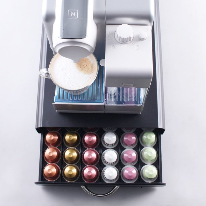 【全新現貨】60顆新款 抽屜 雀巢膠囊咖啡架 Nespresso 膠囊咖啡架 膠囊咖啡抽屜  膠囊咖啡盒