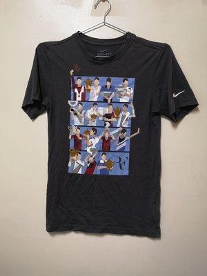 Nike DRI-FIT 瑞士特快車 Roger Federer 費德勒 T恤