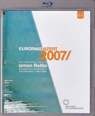 高清藍光碟 EuropaKonzert 2007 Rattle 20007年歐洲音樂會 西蒙.拉特 25G