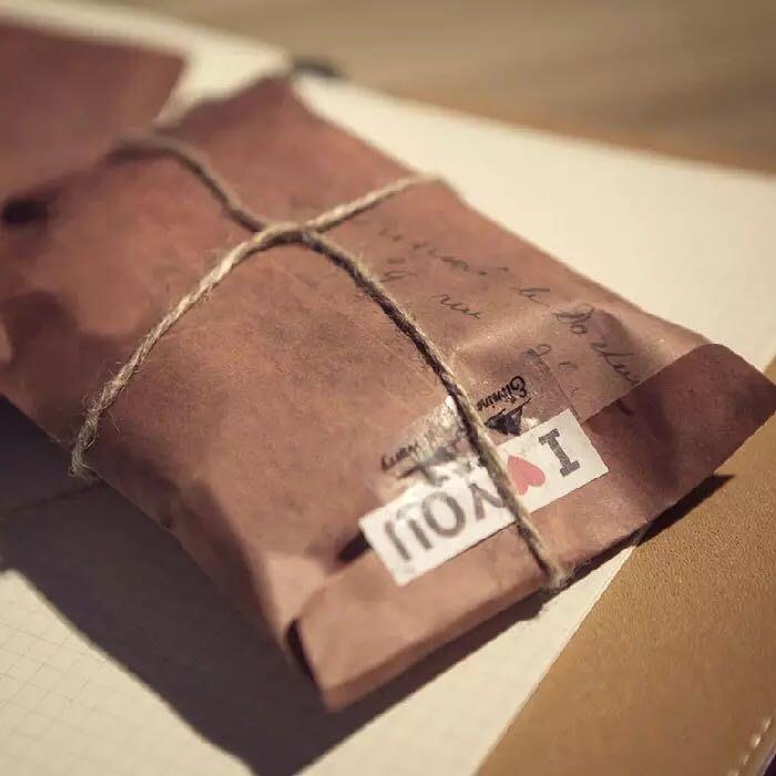 創意復古牛皮紙信封 浪漫古典懷舊西式信封禮品包裝紙袋子卡片收納告白情書信封禮物發票信封