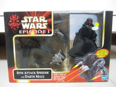 全新孩之寶 星際大戰STAR WARS DARTH MAUL達斯魔及坐駕(非鋼鐵人蜘蛛 美國隊長R2D2黑武士路克尤達)