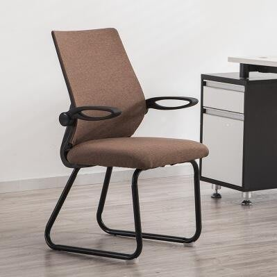 ZIHOPE 電腦椅家用現代簡約懶人靠背辦公室椅子休閒宿舍弓形透氣網布座椅LXZI812