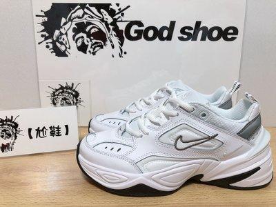 【尬鞋】Nike M2K Tekno White 白色 白黑 白銀 銀白 老爹鞋 厚底 增高 女鞋 BQ3378-100