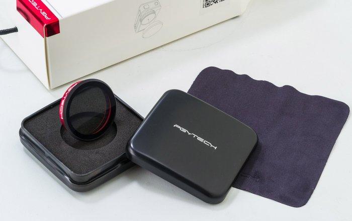 呈現攝影-PGYTECH OSMO-Action 專用CPL偏光鏡 濾鏡 減光1格半 大疆 DJI 相機 靈眸 車拍