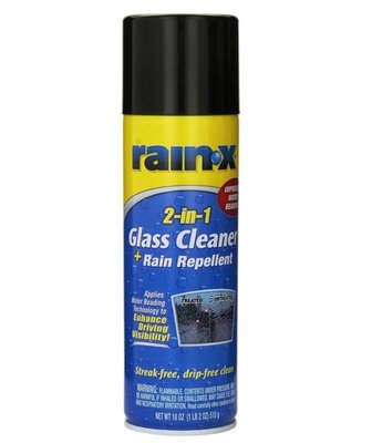 Rain-X 2-in-1 玻璃清潔+防潑水劑 2合1雙效 Glass Cleaner & Rain Repellent