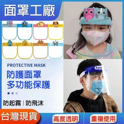 【現貨】全臉防護面罩 面罩 防疫面罩 防護面罩 防飛沫面罩 防霧面罩 防護罩 護目罩 抗霧