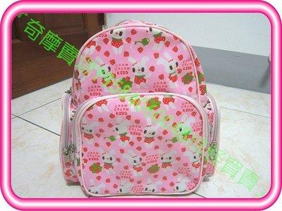 【搞怪買賣】二手 CRAM CREAM KIDS兒童書包/雙肩包/背包(粉紅小兔子款)