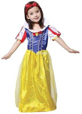 萬聖節服裝,萬聖節裝扮,變裝派對,兒童變裝服-公主服裝/俏麗白雪公主