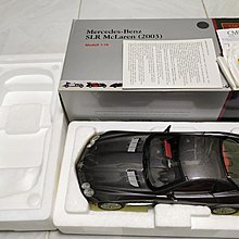 CMC 1/18 Mercedes-Benz SLR McLaren (2003) anthracite metallic 灰黑色精緻上色合金全開汽車模型
