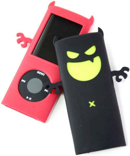 《鬼月破盤》Q-Max 小惡魔矽膠保護套 (Nano 4代專用),2色可選,買一送一最後出清