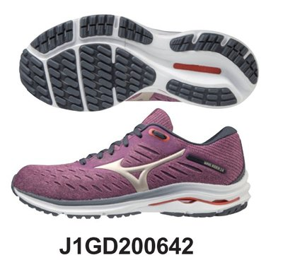 【小黑體育用品】mizuno美津濃 新款WAVE RIDER24 女跑鞋J1GD200642