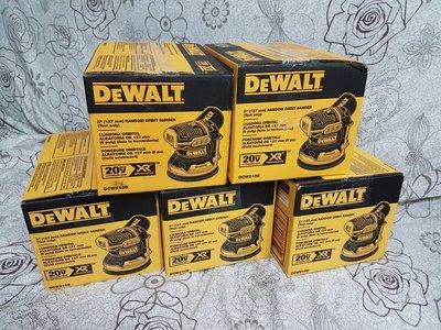 美國 德偉 Dewalt Dcw210 18V 20V 無刷 砂紙機 磨砂機 散打 五吋 圓盤 可調速 自帶集塵