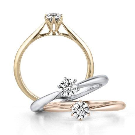 衣萊時尚-s925純銀鍍白金裸鉆65分仿真鉆石男女戒指鋯石情侶求婚生日對戒
