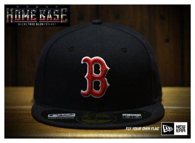 NEW ERA【公館HOME BASE專賣店】2016年最新版 MLB Boston 紅襪隊 主場球員專用帽深藍色