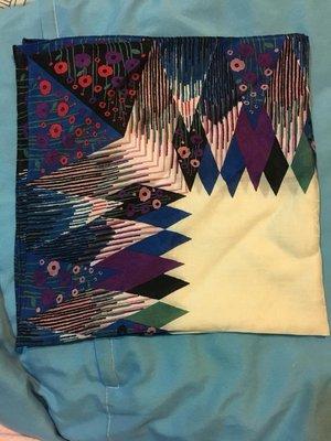 ANNA SUI安娜蘇幾何領巾手帕