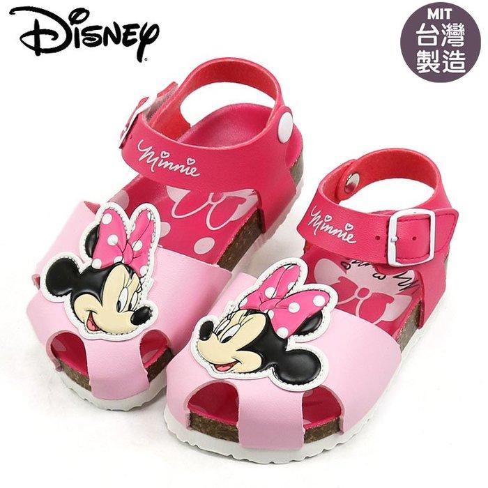 童鞋/正版Disney迪士尼米妮護趾氣墊涼鞋.童鞋.桃(14-18號117252)