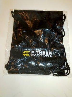 全新未拆封  健身工廠 fitness factory 束口袋 束口後背包  僅此一個,錯過可惜!