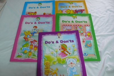 【彩虹小館H6.P7.】童書~Dos & Donts(1~6)_喬登幼兒美語~共6本