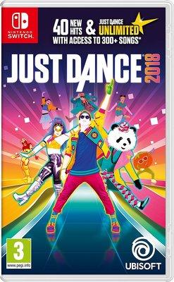 全新未拆 NS 舞力全開2018 (含3個月Unlimited會籍) -英文版- Just Dance Switch