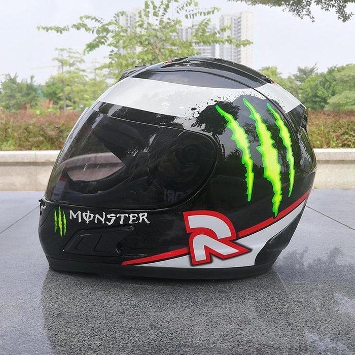 [酷樂精品]鬼爪紅R全罩安全帽 可拆洗(Monster ARAI OGK HJC M2R SOL SHOEI AGV)