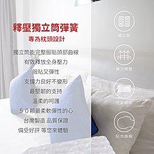 台灣製 3M吸濕排汗獨立筒枕 彈簧枕 獨立筒枕 Q彈釋壓支撐 飯店枕 民宿枕 護頸枕 枕心 舒壓枕 透氣枕頭 枕頭