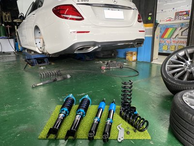 JK Racing S1道路運動版避震器 可調式避震器 BENZ W213 E300 專車專用 阻尼30段可調