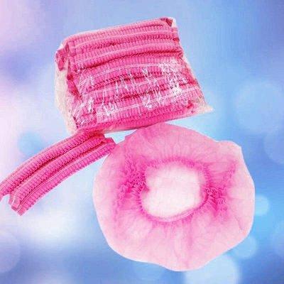 美容院浴帽一次性條型專用干發帽包頭毛巾酒店用品美發工具包大包