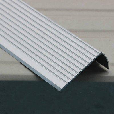 現貨附發票『寰岳五金』鋁合金止滑條 全鋁款 60*25mm 長度一米100公分 樓梯防滑條 收邊條 止滑條 包角條 地板壓條