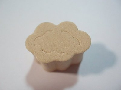 【菲比的寶貝屋】~~ LV25-011 海綿印章 -- 雲