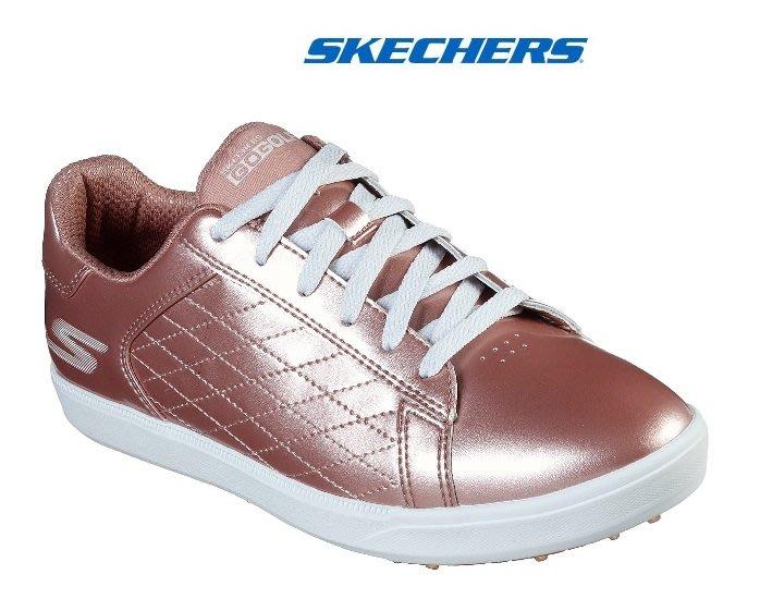 藍鯨高爾夫2019年SKECHERS GO GOLF DRIVE-SHINE #14881.RSGD女用高爾夫球鞋-粉