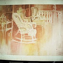 【藏家釋出】 早期收藏 ◎ 美國知名畫家《亨利‧NEUBIG 版畫 ◎ 有親筆簽名 》