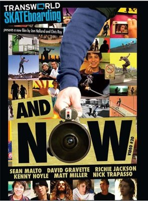 """OVERLORD Transworld Skateboarding """"And Now"""" 滑板 DVD"""