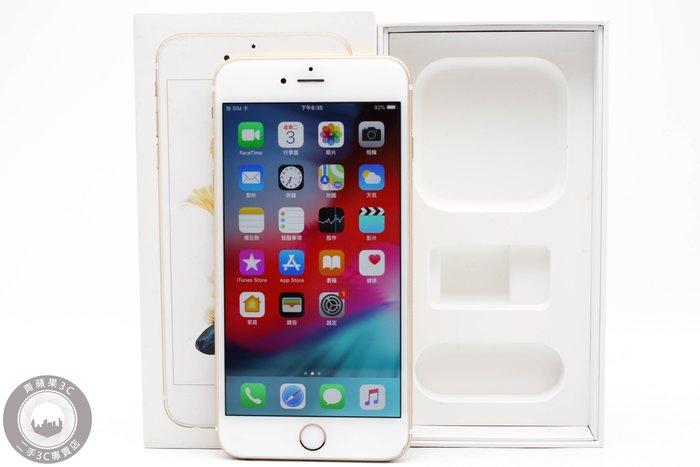 【高雄青蘋果3C】APPLE IPHONE 6S Plus 64G 64GB 金 5.5吋 二手手機 #46506
