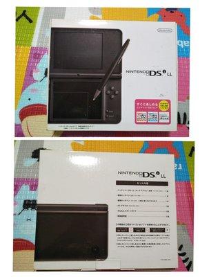『懷舊電玩食堂』《正日本原版》【NDSi LL】實體拍攝 NDSi LL 黑色主機+盒書