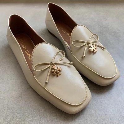 ╭☆包媽子店☆ TORY BURCH LOAFER 牛皮休閒鞋 2020新品 ((上班好穿))