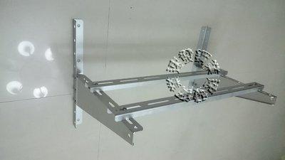 速發~豪華安裝架~不鏽鋼正白鐵304冷氣室外機安裝架豪華組合架(中) 冷氣架分離式DIY簡易安裝  超低價批售