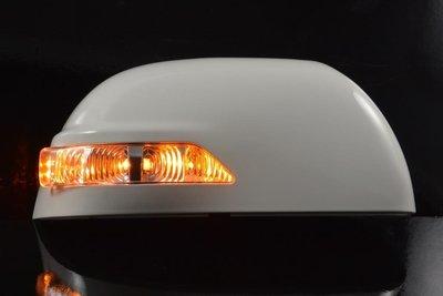金強車業LUXGEN納智捷  U7  2014-ON 改裝後視鏡殼 單功能側燈 方向燈  (橘色QX6)