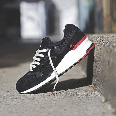 NEW BALANCE 999 ML999AF NB 黑紅 黑色 黑魂 麂皮 復古 余文樂 慢跑鞋 經典 男女鞋